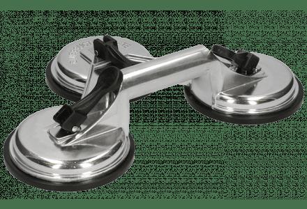 Glaszuiger triple aluminium - 100kg