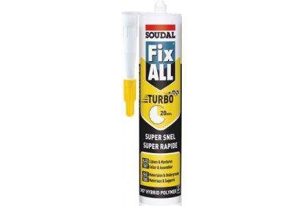 Soudal Fix All Turbo zwart
