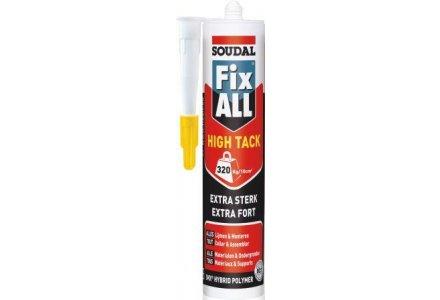 Soudal Fix All High tack zwart