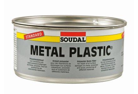 Soudal Metal plastic standard - polyester plamuur