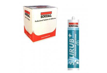 Soudal Silirub+ S8100 doos 15 kokers