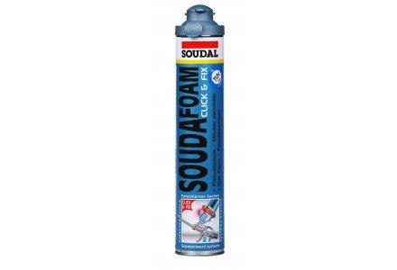 Soudal Soudafoam Click & Fix pur 750ml