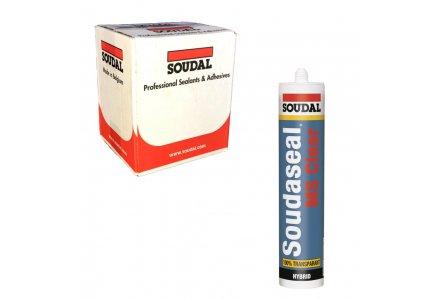 Soudal Soudaseal MS Clear doos 12 kokers