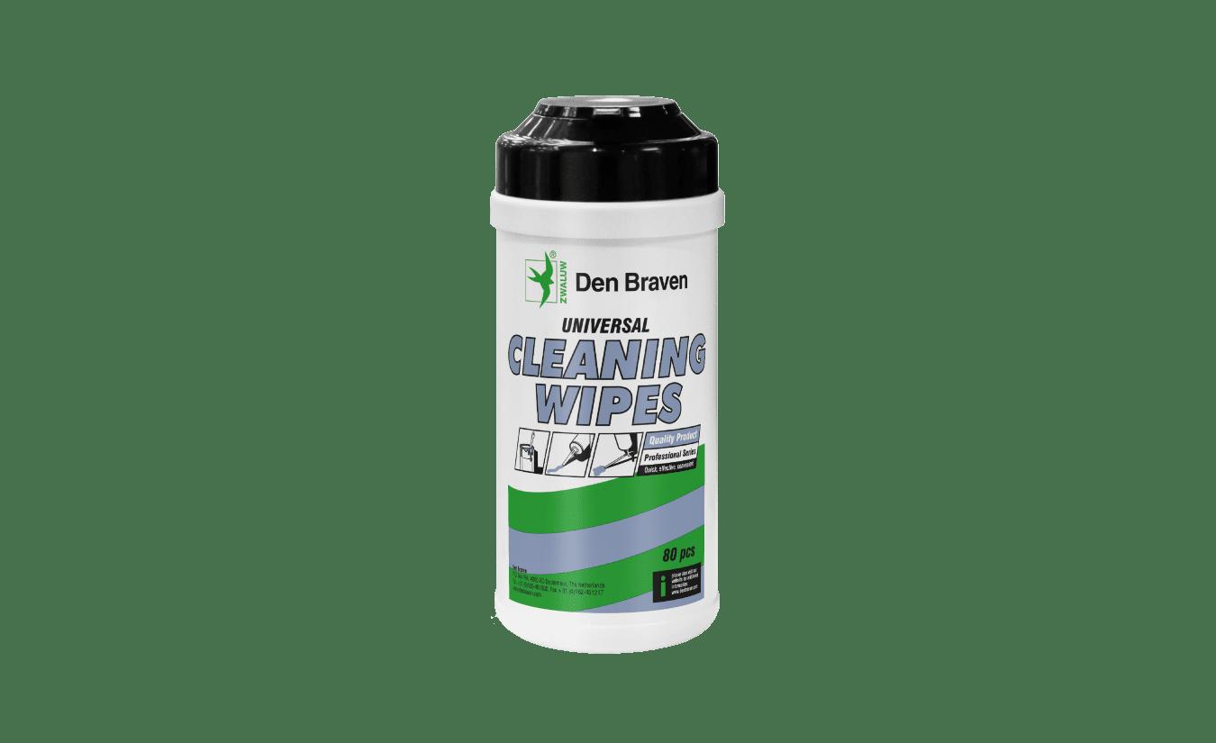 Den Braven Zwaluw Cleaning wipes 80 stuks